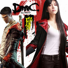 High-Quality DMC 5 Devil May Cry 5 Dante Cosplay Costume Jacket Coat Customized