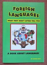 Book about foreign languages for kids: Chinese, Japanese, Russian, Esperanto,...