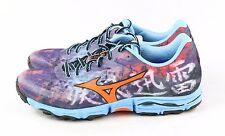 Mizuno Womens Wave Hayate Trail Running Shoe Purple Plumeria Ceresia Size 8.5