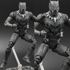 The Avengers Captain America III Civil War Black Panther Figure Figurine No Box