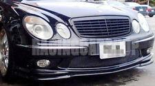 REAL CARBON FIBER LIP SPOILER for Mercedes BENZ W211 E55 FRONT BUMPER 03-06 M036