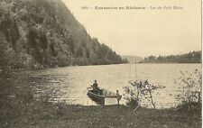 CARTE POSTALE EXCURSION AU HERISSON LAC DU PETIT MACLU