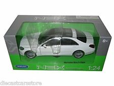 Welly Mercedes Benz S Class WHITE 1/24 Diecast Car Model 24051W-WH New In Box