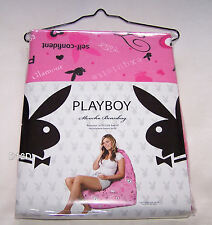 Playboy Bunny Fabulous Pink Printed Slouch Bean Bag Cover New