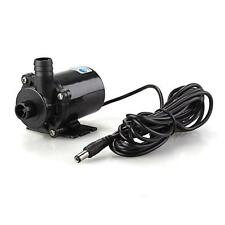 12V DC Submersible Brushless Water Pump for Fountain Pond  Pool Aquarium Tank