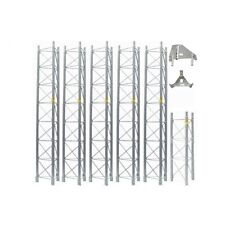 ROHN 55G Tower 50' ft Self Supporting Tower 55SS050 Freestanding ROHN 55G Tower
