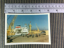 merchant vessel ship Kungurles Shoreham 1967 port harbour real period photo