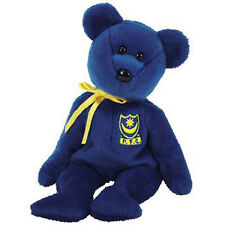 TY Beanie Baby - POMPEY the Bear (UK Portsmouth Football Club Excl) (8.5 inch)