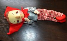 "Antique Vintage Jester Clown Doll 12"" Attic Find"