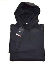 NWT Men's NIKE THERMA-FIT Pullover Hoodie Sweatshirt, Black, L, Large