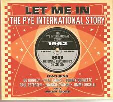 LET ME IN THE PYE INTERNATIONAL STORY 1962 - 3 CD BOX SET - ETTA JAMES & MORE