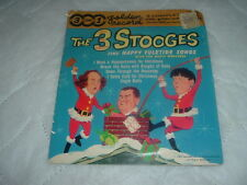 Three Stooges Original Golden Record Cover,Cover only.Three Stooges Collectible.