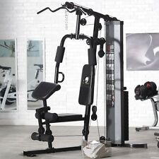 Marcy 150 lbs. Stack Gym, Black, 69L x 36W x 80H in.