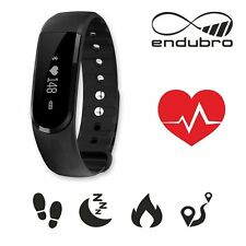 endubro FITNESS TRACKER ID101 HR BLUETOOTH TOUCHSCREEN ANDROID E IOS - NERO