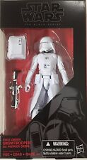 Star Wars The Force Awakens Black Series 6 Inch Snowtrooper - New in hand