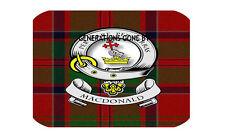 Clan MAC DONALD cuisine en verre planche à hacher