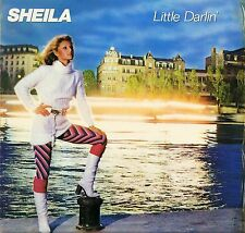SHEILA little darlin' 67793 french carrere with inner sleeve LP PS VG/VG+