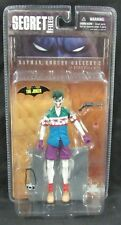 DC Direct Batman Rogues Gallery Secret Files The Joker Figure MIP Sealed G879