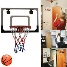 Mini Pro Basketball Indoor Hoop Wall/Door Kids Mount Sports With Ball Free Gift