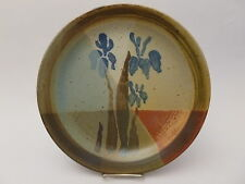 William Bill Creitz Studio Pottery Ceramic Plate, signed