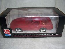 AMT 1/25 1995 DEALER PROMO CAR CHEVY CORVETTE COUPE LAST ZR-1 TORCH RED -MIB
