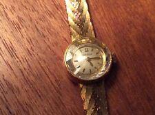 Antike Damenuhr Omega, 14kt Gold, sehr elegant, 60er Jahre