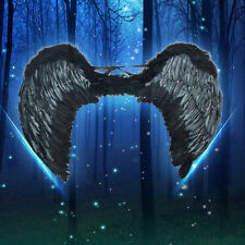 New Sexy Black  Angel Wings Costume Outfit Feather Fairy Cosplay props Unisex