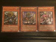 Yu-Gi-Oh Unl ULTRA RARE Theinen the Great Sphinx/ Sphinx Teleia/ Andro Sphinx