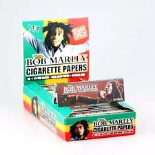 "25 BOB MARLEY 1 1/4"" (1.25) CIGARETTE ROLLING PAPERS FULL BOX"