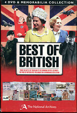 Best of British Memorabilia  4 dvd Set - New in shrink wrap.