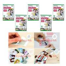 5 Pack Fujifilm Instax Mini Film 50 Pcs Fuji Neo 90 Mini 8 Mini 25 Mini 7S 100
