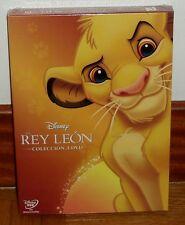 EL REY LEON-LA TRILOGIA-THE LION KING-3 DVD-DISNEY-PRECINTADO-NUEVO-NEW-SEALED