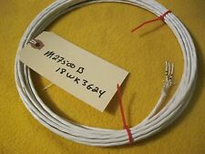 25 FEET -18 AWG / 3 WIRE / SILVER SHIELDED PTFE TWISTED