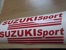 SUZUKI  SPORT  VINYL CAR STICKERS x2