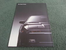 February 1988 TOYOTA SUPRA 3.0 TURBO - GERMAN BROCHURE + SPECIFICATION