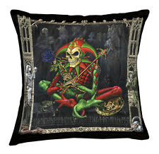 Alchemy Gothic Fools View doubled sided image cushion with Poly Pad 43x43cm