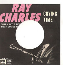 RAY CHARLES - CRYING TIME  -  SOLO COPERTINA - ONLY COVER -  EX