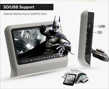 """HD Digital 9 """"a cristalli liquidi auto poggiatesta monitor DVD Lettore DVD Gioch"""