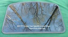 2007 CHRYSLER PT CRUISER YEAR SPECIFIC FACTORY OEM SUNROOF GLASS FREE SHIPPING!