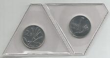 REPUBBLICA ITALIANA - 1 Lira + 2 Lire 1988