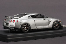 1 of 60 - Left Hand Drive - Nissan R35 GT-R  **Gun Metallic** -- HPI 1/43 #8321