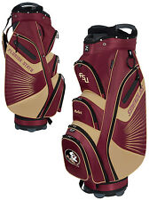 Team Effort Bucket II Cooler NCAA Golf Cart Bag Florida State Seminoles