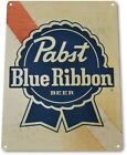 "TIN SIGN ""Pabst Blue Ribbon Old"