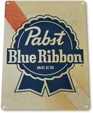 "TIN SIGN ""Pabst Blue Ribbon Old"" Beer Metal Art Store Pub Brew Shop Bar Pub A552"