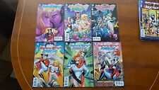 HARLEY QUINN & POWER GIRL  #1,2,3,4,5,6 - MINI SERIES 1ST PRINTS