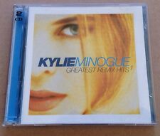 Kylie Minogue - Greatest Remix Hits 1. Dbl Cd Album Rare Australian Mushroom