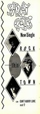 31/1/81PGN29 ADVERT: THE STRAY CATS THEIR NEW SINGLE ROCK THIS TOWN 15X5