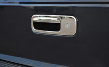 CHROME REAR DOOR TAILGATE HANDLE COVER TRIM SET FOR VW VOLKSWAGEN CADDY 2004-09