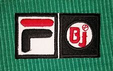 FiLA F BJ Pro Sports Logo Iron/ Sew-on Embroidered Patch / Badge