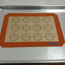 Double Sides Macaron Macaroon Baking Tray Sheet Muffin Cookie Silpat Mat Pad New